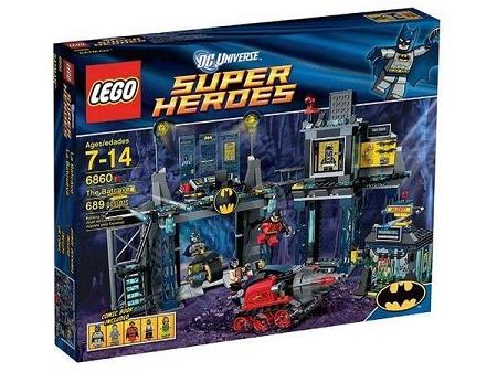 Lego The Batcave 6860 New In Box Factory Sealed Mib Batman