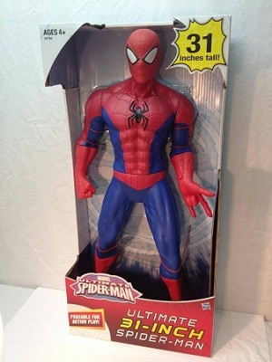 Ultimate Spider-Man 31 inch tall figure