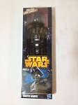 New Star Wars Darth Vader 12 inch MIB Hasbro Includes Lightsaber 2012