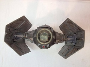 Vintage Star Wars Darth Vader TIE Fighter loose complete works