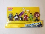 Imaginext 4 DC Super Friends Joker Mr. Freeze Riddler Penguin