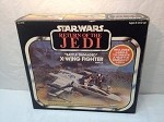 Vintage Star Wars Battle Damaged X-Wing Fighter MISB Jedi Sealed