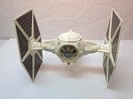 Vintage Star Wars TIE Fighter loose complete works 1978 white