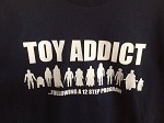 Gabriel's Toys T-Shirt TOY ADDICT 12 Step Program Star Wars