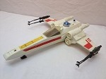 Vintage Star Wars X-Wing Fighter loose complete. Original 1978